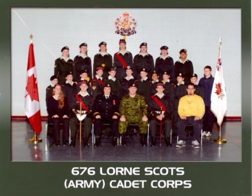 Corps 2004-2005