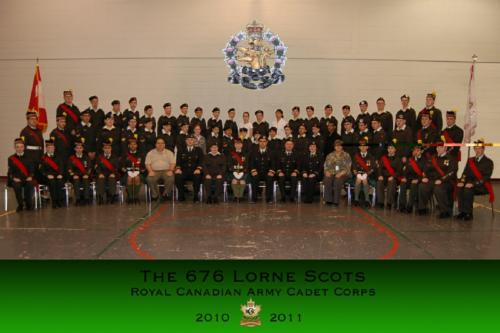 Corps 2010-2011