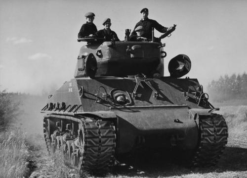 Maj Wally Statz 1953 tank